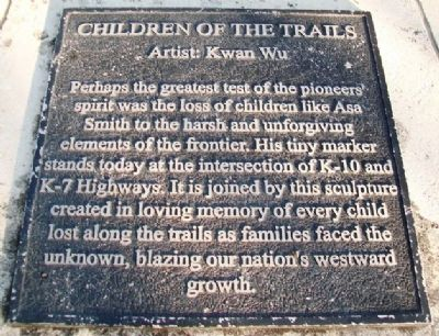 Children of the Trails Marker image. Click for full size.
