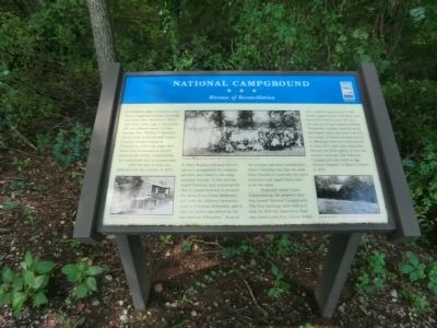 National Campground Marker image. Click for full size.