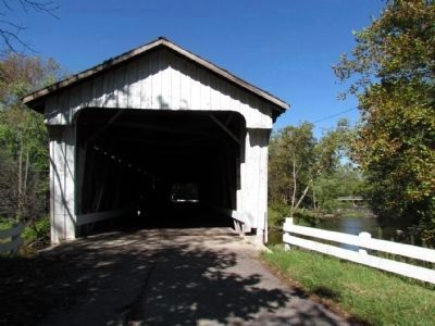 Darlington Covered Bridge image. Click for full size.