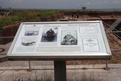 The Battle of Mobile Bay Marker image. Click for full size.