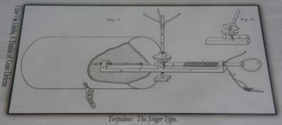 Top Right Image: Torpedoes: The Singer Type. (Victor Von Scheliha, A treatise of Coast-Defense) image. Click for full size.