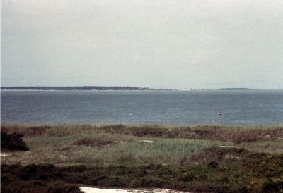 The Channel In Front Of Fort Morgan. image. Click for full size.