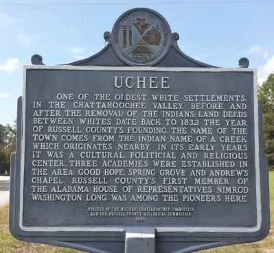 Uchee Marker image. Click for full size.