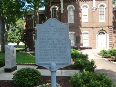 Loudon County Courthouse Marker image. Click for full size.