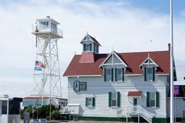 Ocean City Historic Life Saving Station Museum image. Click for full size.