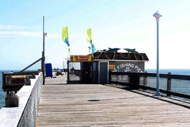 Ocean City Fishing Pier image. Click for full size.