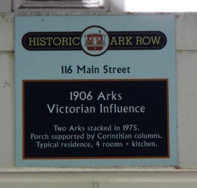 1906 Arks Victorian Influence Marker image. Click for full size.
