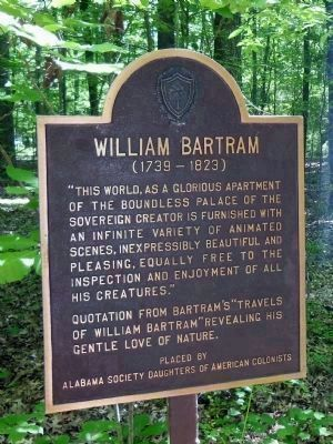 William Bartram Marker image. Click for full size.