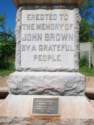 John Brown Monument Marker image. Click for full size.