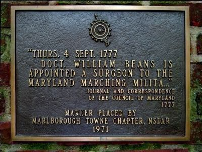 DAR Plaque image. Click for full size.