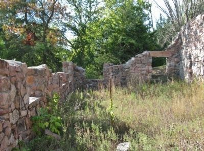 The Joseph R. Brown House Ruins image. Click for full size.