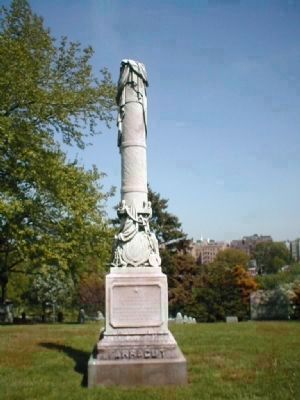 Farragut's grave in Woodlawm Cemetery, Bronx, NY image. Click for full size.