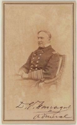Admiral David Glasgow Farragut image. Click for full size.