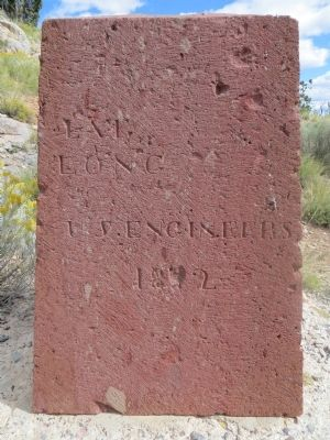 Wheeler Monument Marker <i>north side</i> image. Click for full size.