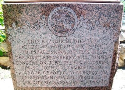 Commissioner Thomas F. Lally Marker image. Click for full size.