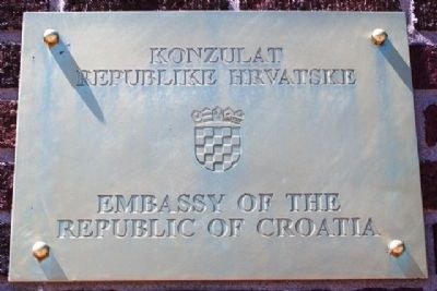 Croatian Consulate at 5th St and Elizabeth Avenue image. Click for full size.