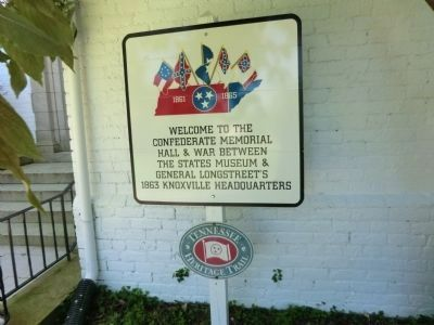 Sign near the entrance to Bleak House image. Click for full size.