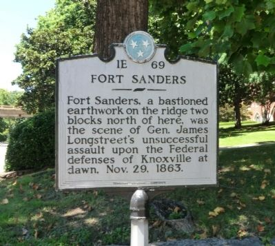 Fort Sanders Marker image. Click for full size.