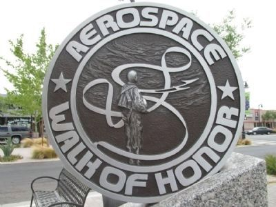 Aerospace Walk of Honor Emblem image. Click for full size.