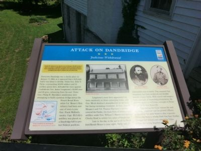 Attack on Dandridge Marker image. Click for full size.