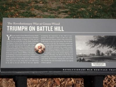 Triumph on Battle Hill Marker image. Click for full size.