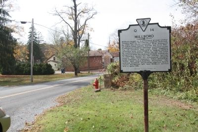 Millboro Marker image. Click for full size.