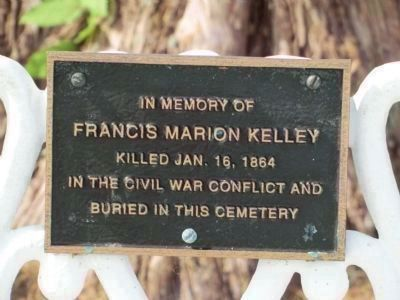 Kelley is mentioned in the text of the marker image. Click for full size.