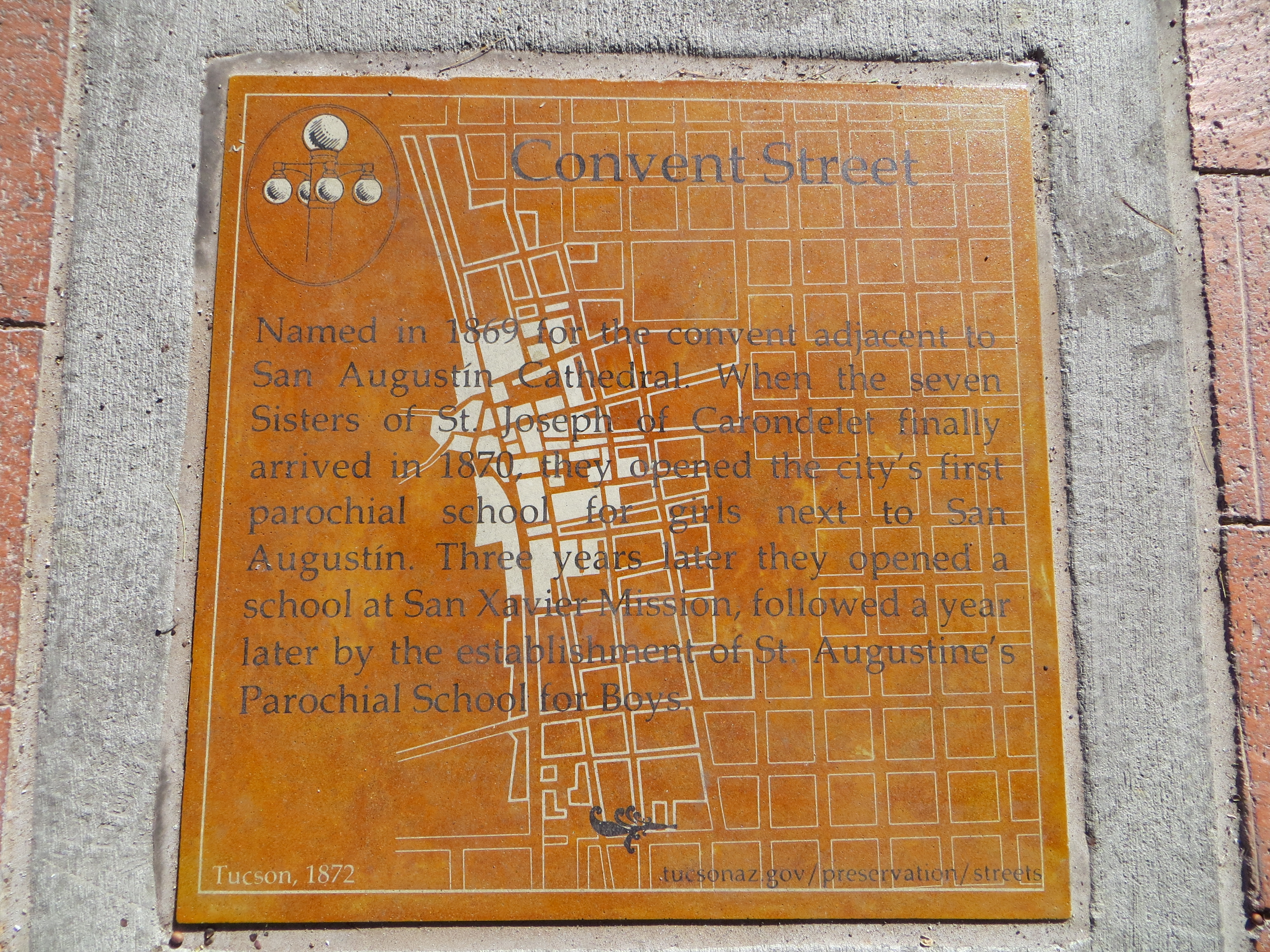 Convent Street Marker