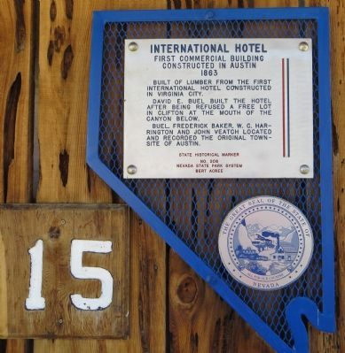 International Hotel Marker image. Click for full size.