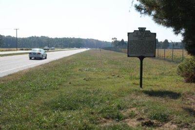 Eastern Shore Chapel Marker along southbound Oceana Boulevard image. Click for full size.
