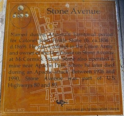Stone Avenue Marker image. Click for full size.