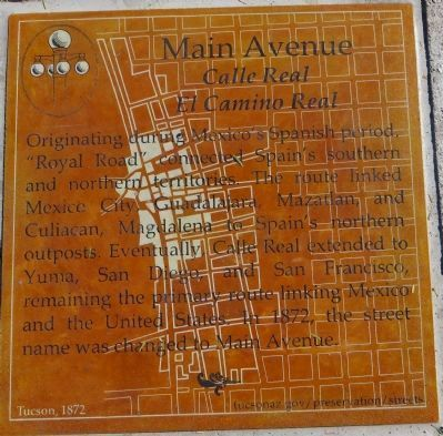 Main Avenue Marker image. Click for full size.