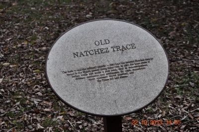 Old Natchez Trace image. Click for full size.