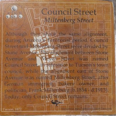 Council Street Marker image. Click for full size.