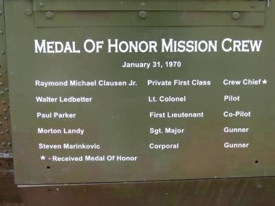Medal of Honor Mission Crew image. Click for full size.