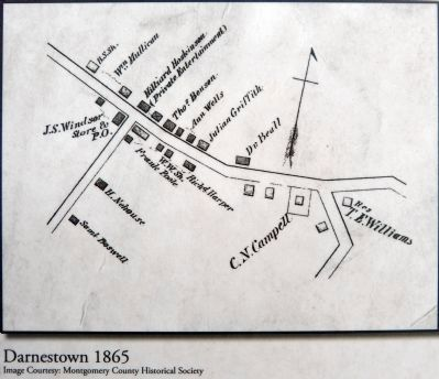 Darnestown, 1865 image. Click for full size.
