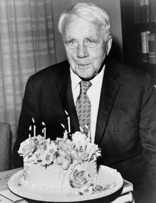 Robert Frost Marker image. Click for full size.