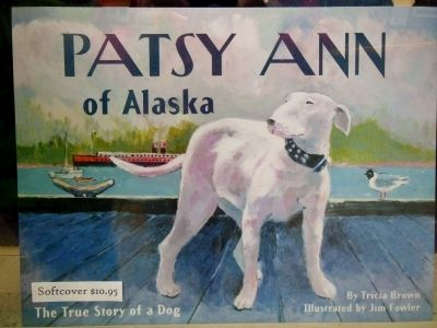 Patsy Ann of Alaska book cover image. Click for full size.