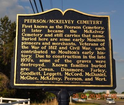 Peerson/Mckelvey Cemetery Marker image. Click for full size.