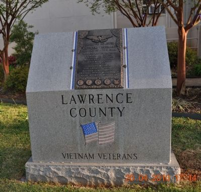 Lawrence County Vietnam Veterans Memorial image. Click for full size.