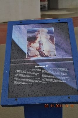Saturn V Marker image. Click for full size.