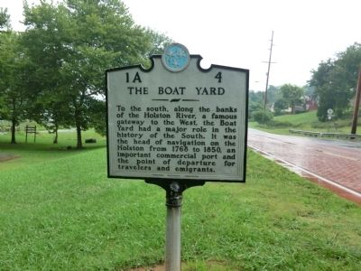 The Boat Yard Marker image. Click for full size.