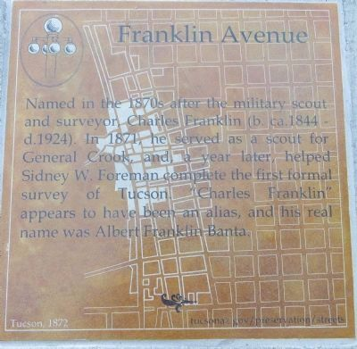 Franklin Avenue Marker image. Click for full size.