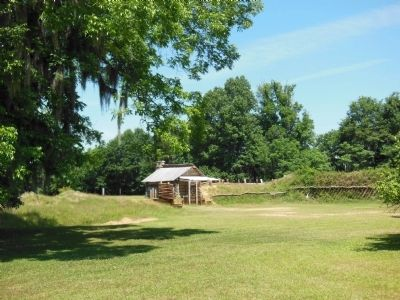 Fort Jackson Reproduction (front) image. Click for full size.