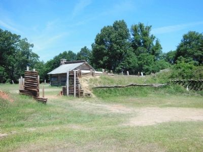 Fort Jackson Reproduction (entry) image. Click for full size.