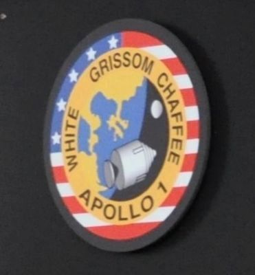 Apollo 1 - Grissom • White • Chaffee image. Click for full size.