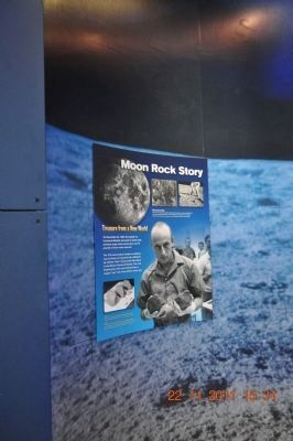 Apollo 12 Moon Rock Story at the U.S. Space & Rocket Center image. Click for full size.
