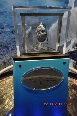 Moon Rock from Apollo 12 image. Click for full size.