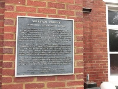 Sullivan County Marker image. Click for full size.