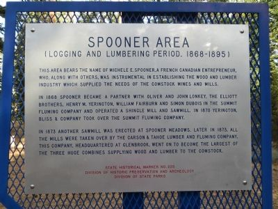 Spooner Area Marker image. Click for full size.